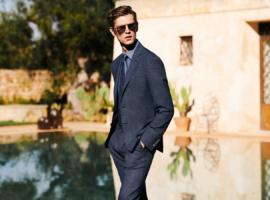 So trägt man Anzüge im Sommer - Foto (C) Canali