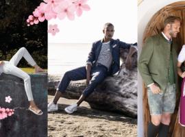Modehaus Brühl in Graz und Wien – Frühlingstrends für Damen, Herren und Trachten